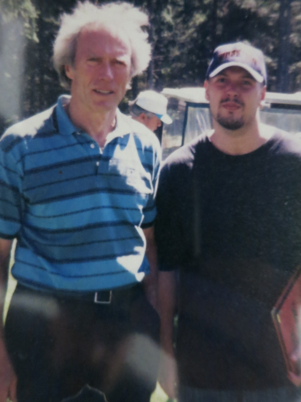 Clint Eastwood Photo with RACC Autograph Collector Autographs99