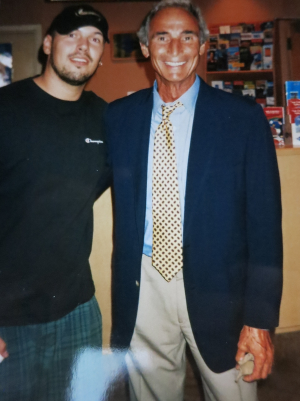 Sandy Koufax Photo with RACC Autograph Collector Autographs99