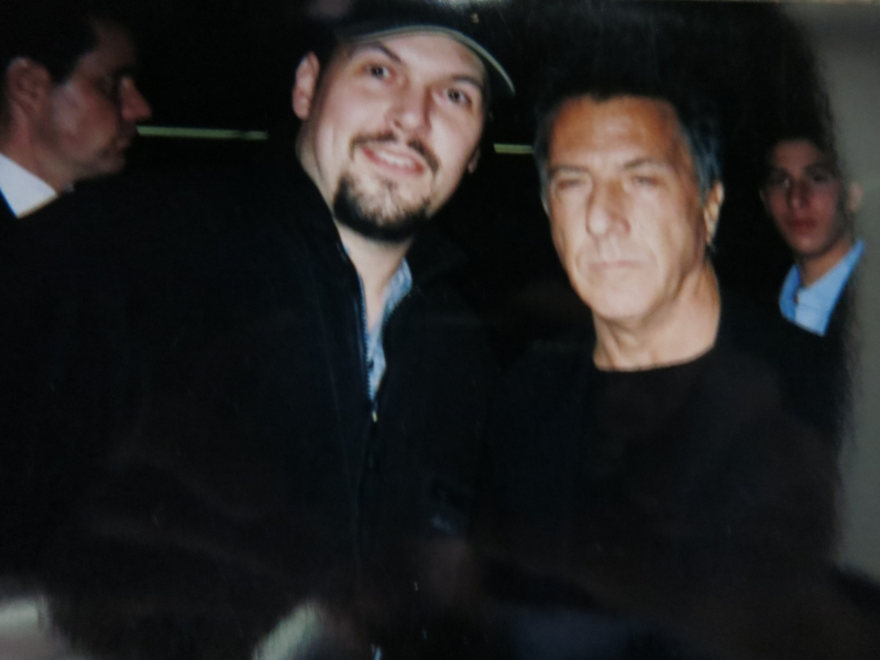 Dustin Hoffman Photo with RACC Autograph Collector Autographs99
