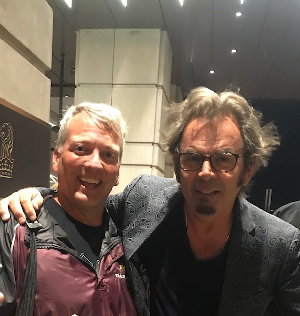 Jonathan Cain Photo with Authentic Autograph Dealer Greg Drugan