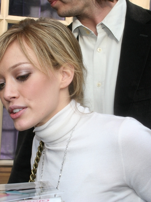 Hilary Duff Paparazzi Shot by Giovanni Arnold