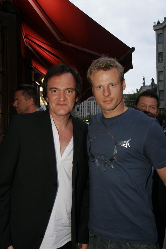 Quentin Tarantino Photo with RACC Autograph Collector AV-Autographs