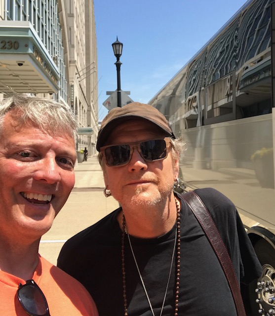 Rick Allen Photo with Authentic Autograph Dealer Greg Drugan