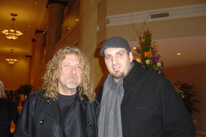 Robert Plant with Jason Shepherd
