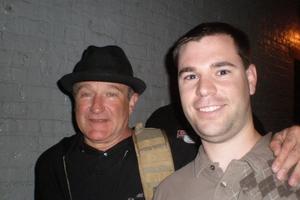 Robin Williams with Jeff Stenzel