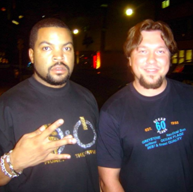 Ice Cube Photo with RACC Autograph Collector RB-Autogramme Berlin