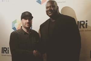 Shaquille O'Neal with Jason Shepherd