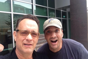 Tom Hanks with Jason Shepherd