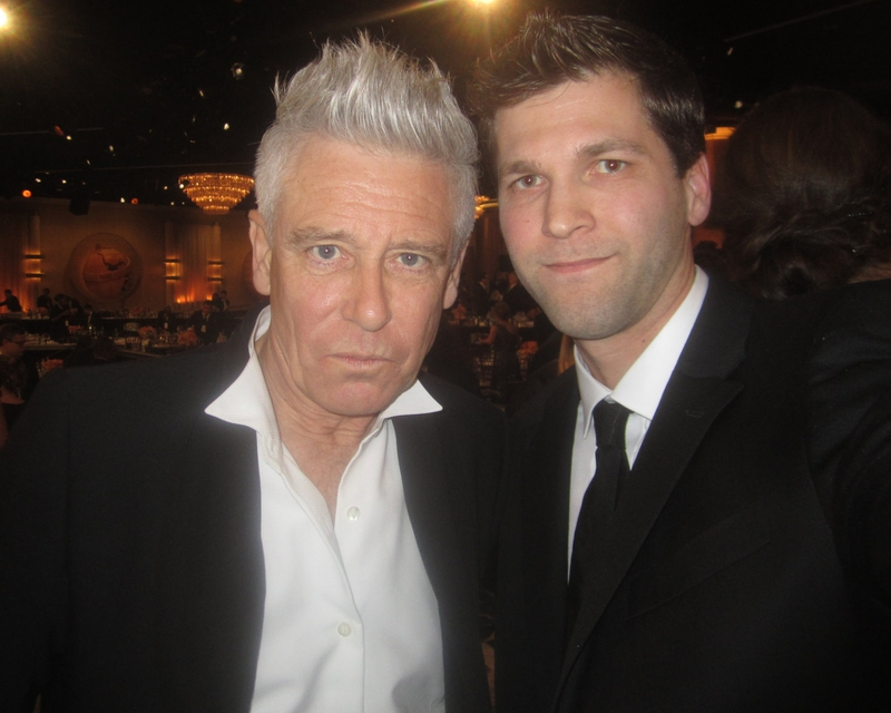 Adam Clayton Photo with Authentic Autograph Dealer All-Star Signatures, LLC
