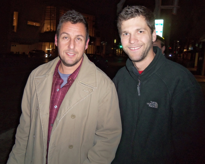 Adam Sandler Photo with RACC Autograph Collector All-Star Signatures, LLC