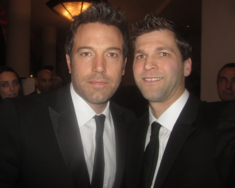 Ben Affleck Photo with RACC Autograph Collector All-Star Signatures, LLC