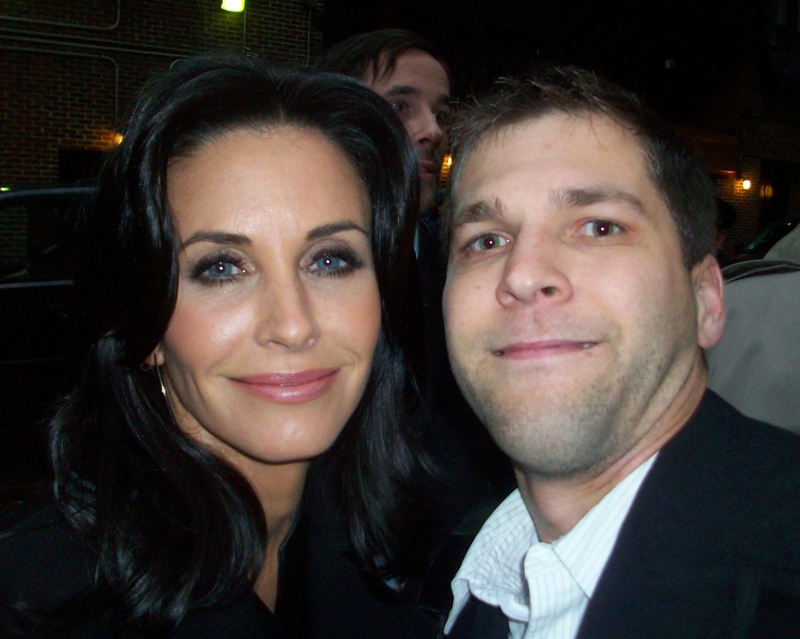 Courteney Cox Photo with RACC Autograph Collector All-Star Signatures, LLC