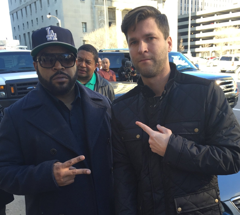 Ice Cube Photo with RACC Autograph Collector All-Star Signatures, LLC