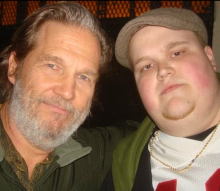 Jeff Bridges Photo with Authentic Autograph Dealer Piece Of History Collectibles