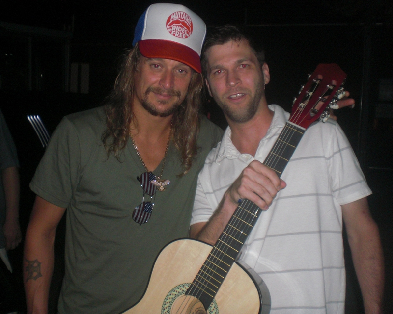 Kid Rock Photo with RACC Autograph Collector All-Star Signatures, LLC