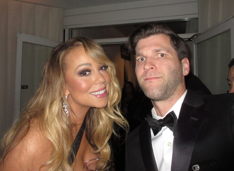 Mariah Carey Photo with RACC Autograph Collector All-Star Signatures, LLC