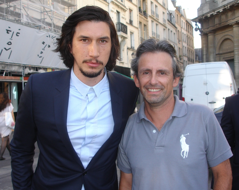 Adam Driver Photo with RACC Autograph Collector CB Autographs
