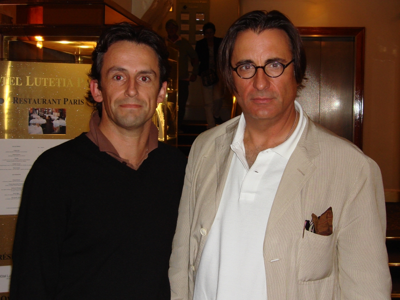 Andy Garcia Photo with RACC Autograph Collector CB Autographs