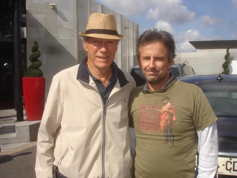Clint Eastwood Photo with RACC Autograph Collector CB Autographs