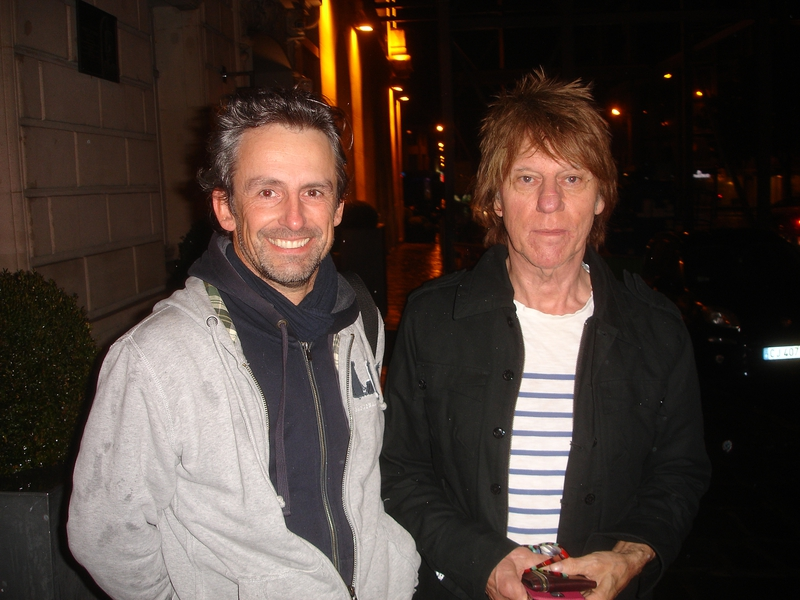 Jeff Beck Photo with RACC Autograph Collector CB Autographs