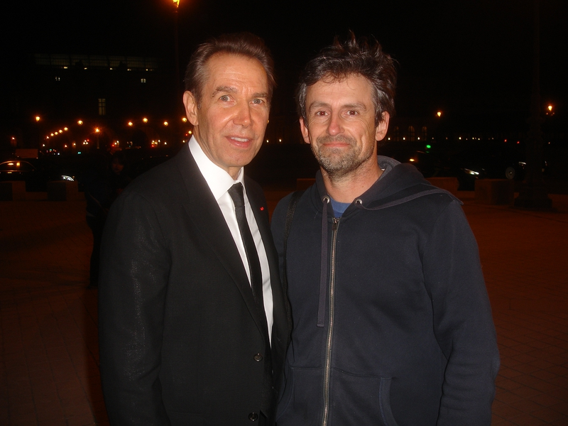 Jeff Koons Photo with RACC Autograph Collector CB Autographs