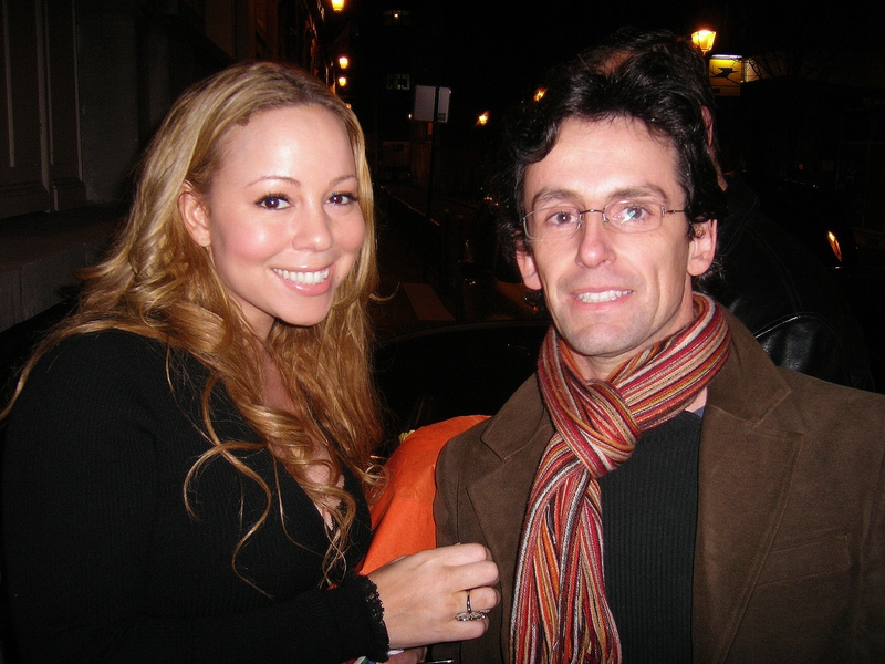 Mariah Carey Photo with RACC Autograph Collector CB Autographs