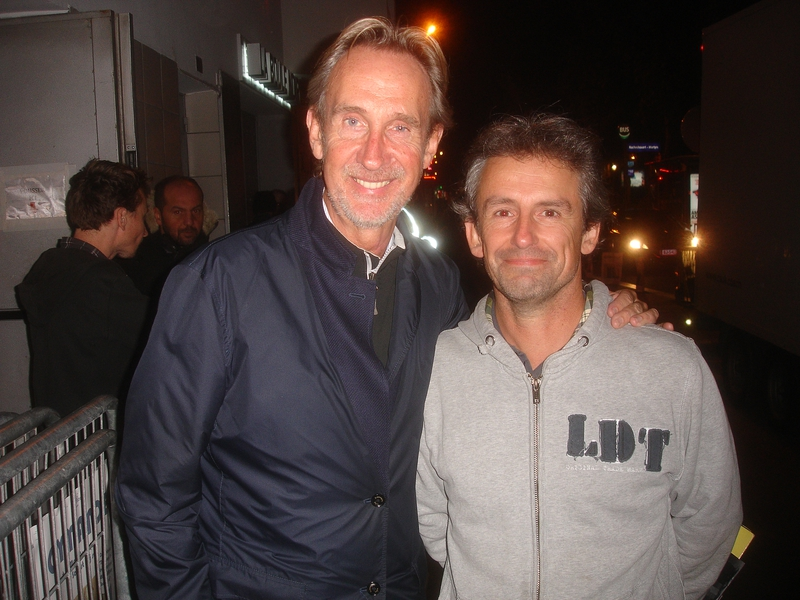 Mike Rutherford Photo with RACC Autograph Collector CB Autographs