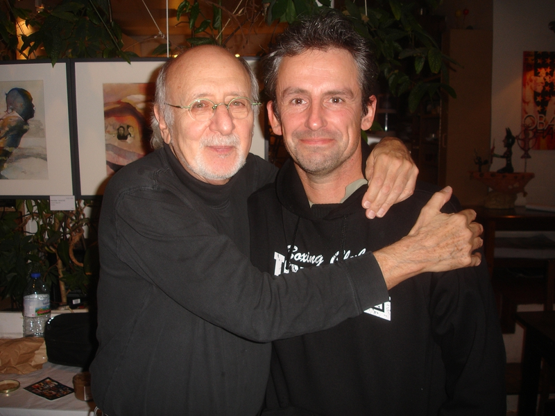 Peter Yarrow Photo with RACC Autograph Collector CB Autographs