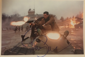 Pierce Brosnan Autograph