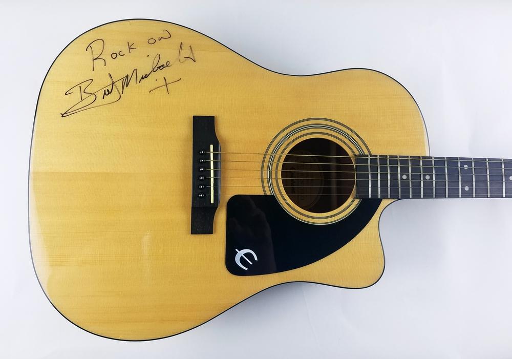 Bret Michaels Autograph