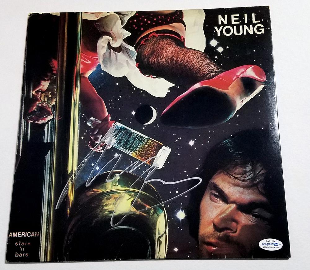 Neil Young Autograph