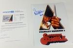Malcolm McDowell Autograph