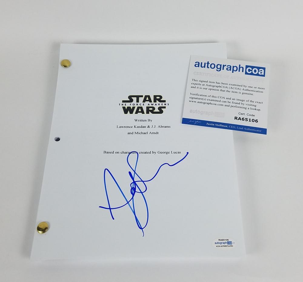 Andy Serkis Autograph