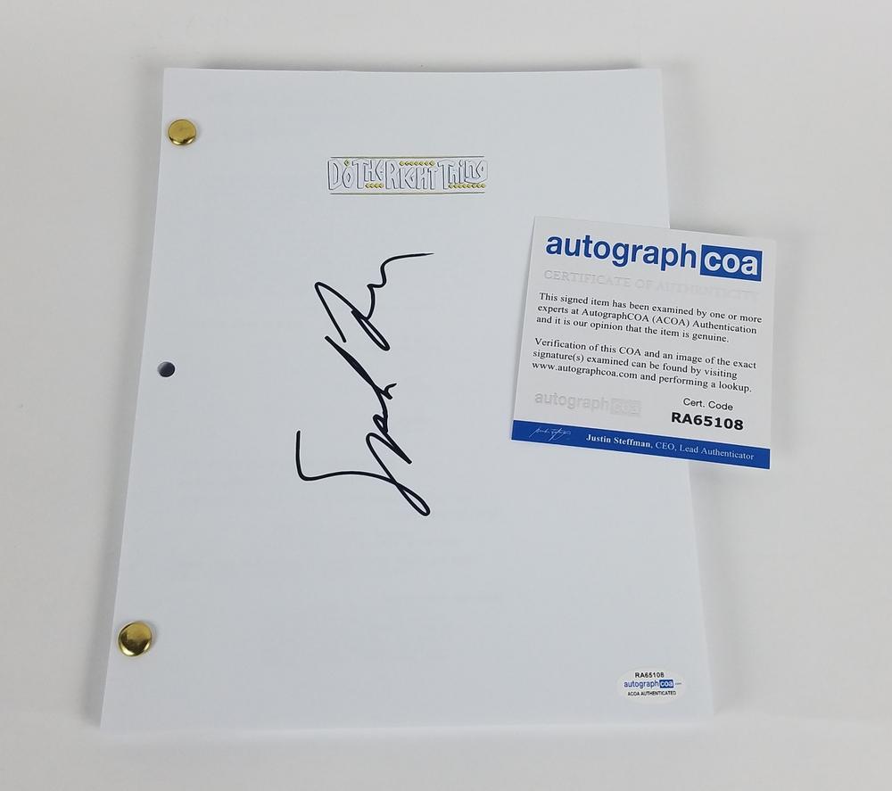 Spike Lee Autograph