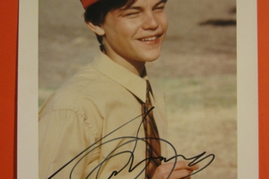 Leonardo DiCaprio Autograph