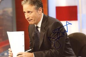 Jon Stewart Autograph