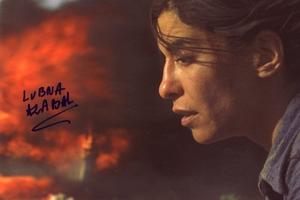 Lubna Azabal Autograph