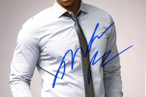 Mehcad Brooks Autograph