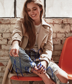 Haley Lu Richardson Autograph