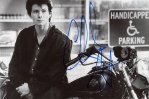 Christian Slater Autograph