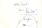 Paul McCartney Autograph