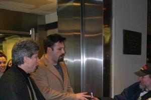 Ben Affleck with Justin Steffman