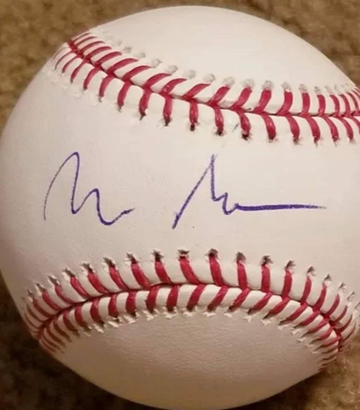 Autograph purchased from RACC Trusted Seller Matthew Griese