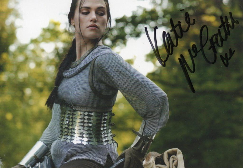 Katie McGrath Autograph by Fanmail TTM