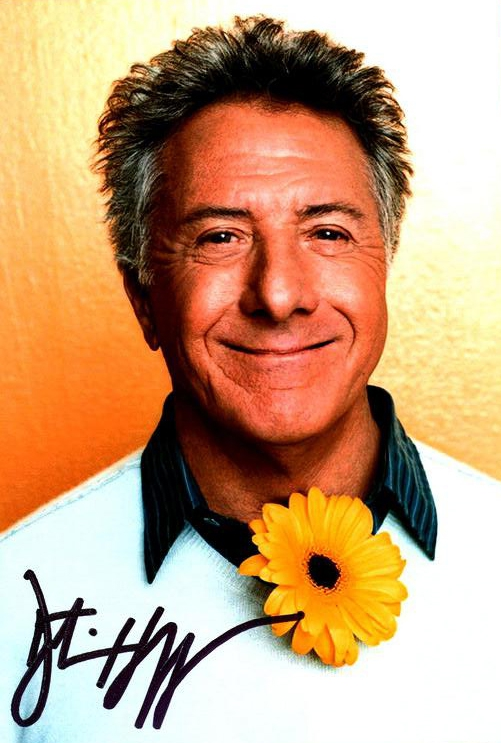 Dustin Hoffman Autograph by Fanmail TTM
