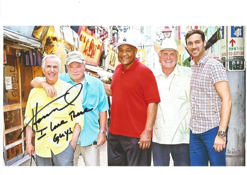 Henry Winkler Autograph by Fanmail TTM