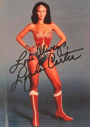 Lynda Carter Autograph by Fanmail TTM