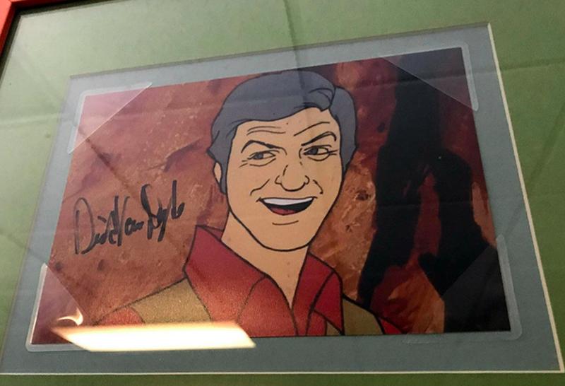Dick Van Dyke Autograph by Fanmail TTM