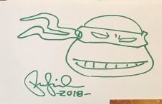 Peter Laird Autograph by Fanmail TTM