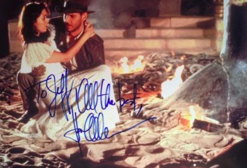 Karen Allen Autograph by Fanmail TTM